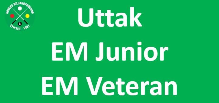 Uttak_EM_Junior_Veteran