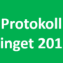 Protokoll – Tinget
